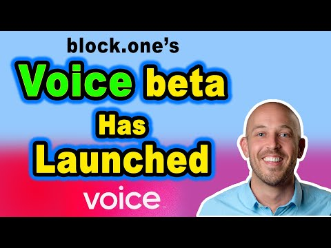 🔵 Voice Beta Has Launched – block.one's KYC Social Media Network for EOS