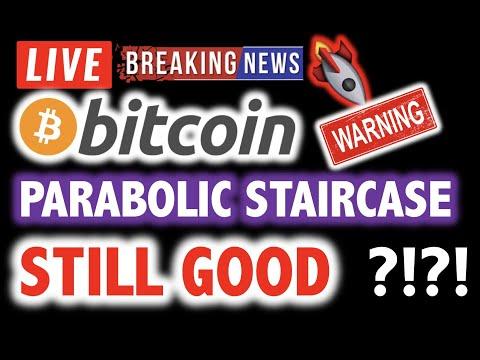 BITCOIN Parabolic Staircase STILL GOOD?! ❗️LIVE Crypto Analysis TA & BTC Cryptocurrency Price News