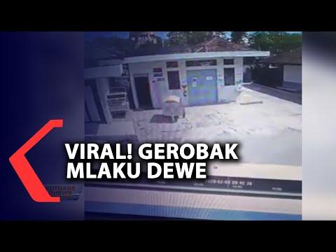 Viral! Ada Gerobak Jalan Sendiri di RSUD Wonosari