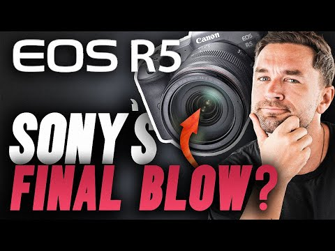 CANON EOS R5 | About To Kill Sony With The BEST MIRRORLESS CAMERA EVER 🤯