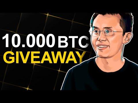 Binance News. Giveaway   Big Interview & Price Prediction Bitcoin