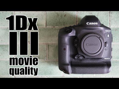 Canon EOS 1Dx III: MOVIE quality review 1080 vs 4k vs 5.5k