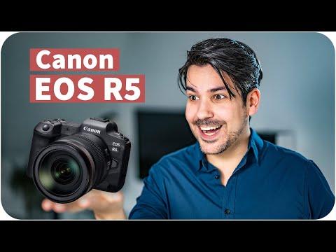 Canon EOS R5 mit 8K Video – DAS hat Canon vor