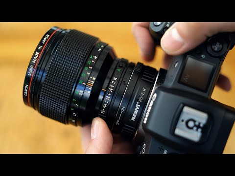 Legacy lenses on EOS R: Canon FD 85mm f/1.2 'L' lens review with samples