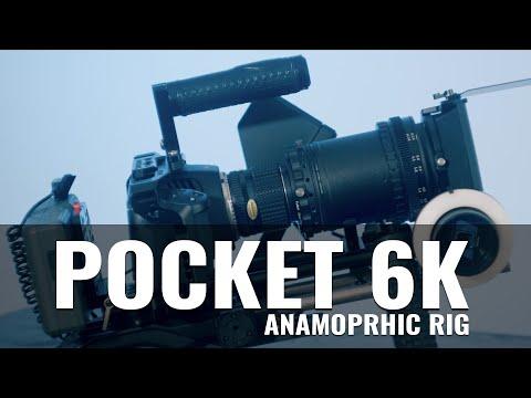 Blackmagic Pocket 6K Anamorphic Rig Tour