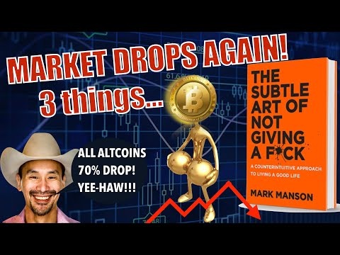 Market BOMB – 3 Things You MUST HAVE MOVING FORWARD! Bitcoin Mining Costs EXPLOSION + Jimmy Song 👎