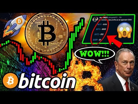 BITCOIN Bounces Back!! $30k BTC MINIMUM 2020? BREAKING: Michael Bloomberg Crypto Clarity