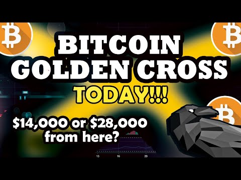 Bitcoin to $14,000 + From Here? Golden Cross Today! BTC Price Prediction 2020