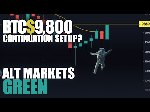 Breaking Bitcoin LIVE Market Analysis- BTC Continuation, ENJ & BCN Big Movers, FX Markets!