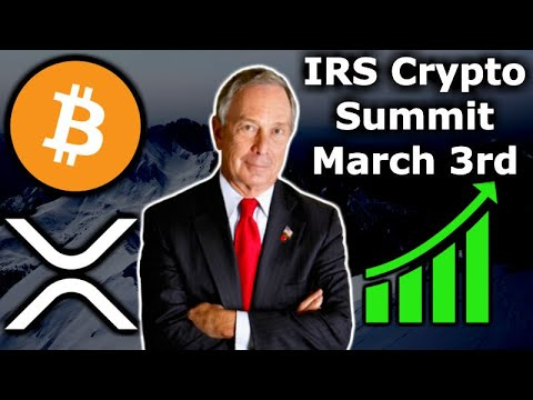 XRP Selling by Jeb McCaleb – Mike Bloomberg Crypto Regulations – IRS Crypto Summit – BitGo Harbor