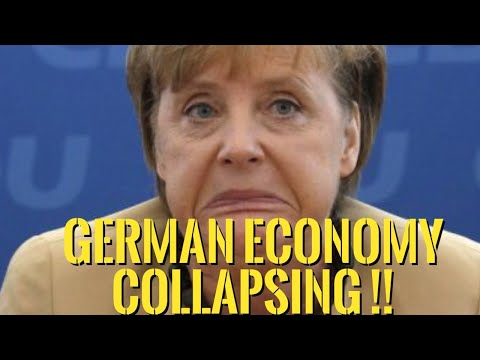 👉The German Economy on The Verge of Collapse — The Whole EU Project is Crumbling !!