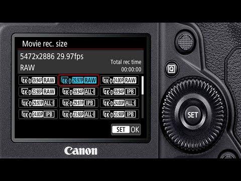 وحش تصوير الفيديو من كانون Canon EOS 1D X Mark III Video Specs