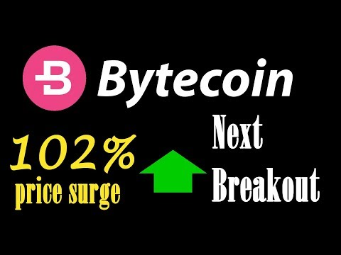 bytecoin bcn price increase 102%  and biggest breakout coming ? LiveDayTrader