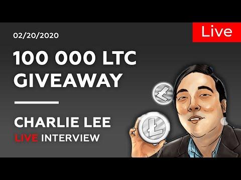 Litecoin LTC Аir-drор by Charlie Lee | Litecoin price prediction, analysis, news