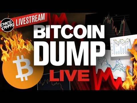 BITCOIN Falls Off A CLIFF!? What's Next? More Pain!?