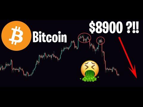 ÉNORME DUMP DU BITCOIN !! DIRECTION $8900 ?!! – Analyse Crypto Altcoin ETH XRP LINK DASH XLM – 20/02