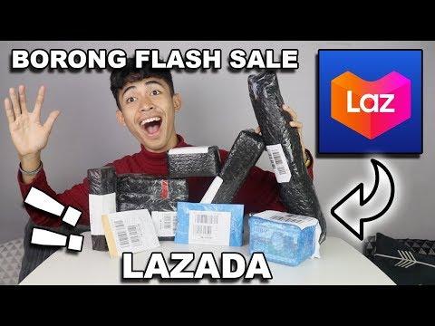 ADA YANG LEMBEK TAPI BUKAN TEMBELEK – BELI BARANG RANDOM DI FLASH SALE LAZADA !!!