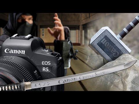 Canon Cripple Hammer Replaced By Canon Cripple Sword EOS R5