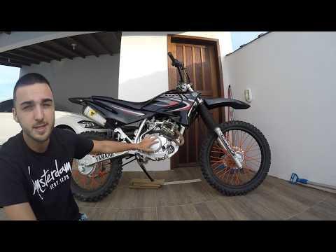 xtz 125cc é boa na trilha ou duna? pontos positivos e negativos
