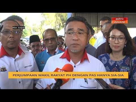 Perjumpaan wakil rakyat PH dengan Pas hanya sia-sia – Adly