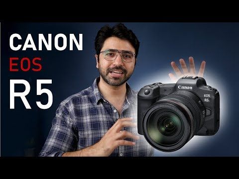CANON EOS R5 – The Perfect Mirrorless Camera? (in Hindi)