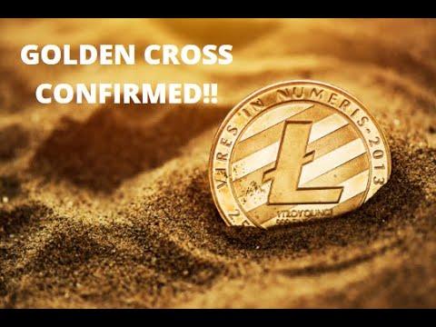 LITECOIN GOLDEN CROSS CONFIRMED!! WATCH THIS AREA NEXT!!