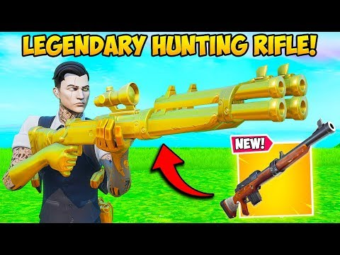 *NEW* LEGENDARY HUNTING RIFLE IS OP!! – Fortnite Funny Fails and WTF Moments! #831