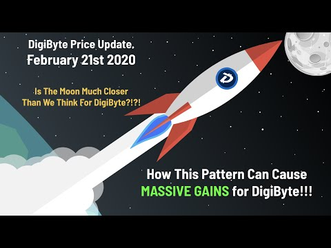 CryptoCurrency DigiByte PRIMED for MASSIVE GAINS?!