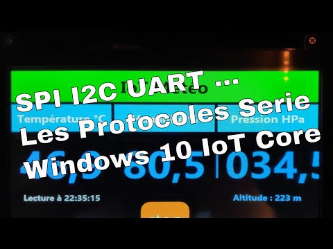Windows 10 IoT – Part 3 – Les Communications Série SPI I2C UART …
