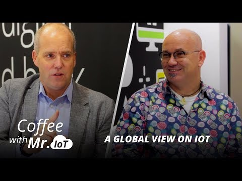 """Coffee with Mr. IoT: Mark Cotteleer–Measuring technology """"positivity"""""""