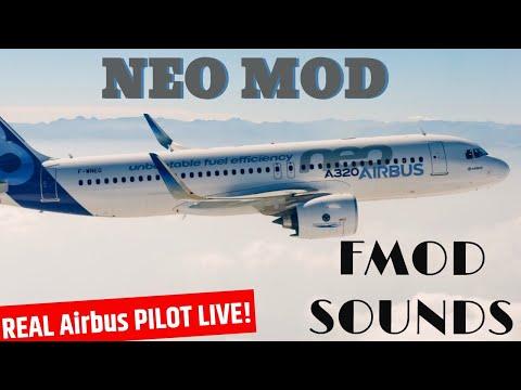 **FlightFactor A320 NEO** FMOD I Real Pilot LIVE!