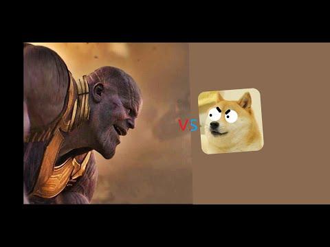Doge VS Thanos