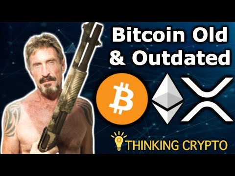 John McAfee Interview – Bitcoin Outdated, Loves Ethereum, Hates XRP – McAfee DEX Crypto & More!