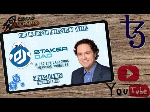Interview met Jonas Lamis CEO & Founder van StakerDAO $XTZ Tezos