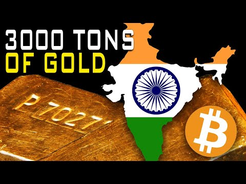 Indian Gold Rush? 3000 Tons Of Gold Discovered Makes Bitcoin Better?