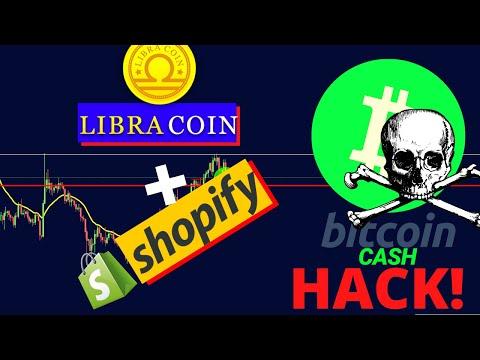 30M $ Bitcoin Cash HACK! | Bitcoin (BTC) In Rising Wedge? | Libra Coin last desperate attempts