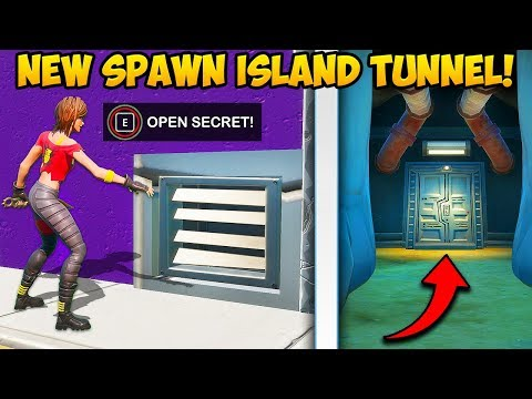 *NEW* SECRET TUNNEL AT SPAWN ISLAND!! – Fortnite Funny Fails and WTF Moments! #832