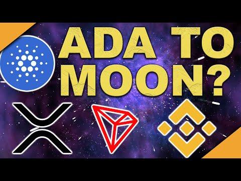 ADA to Moon Soon | XRP Giving Up? | TRON & Binance Disasters