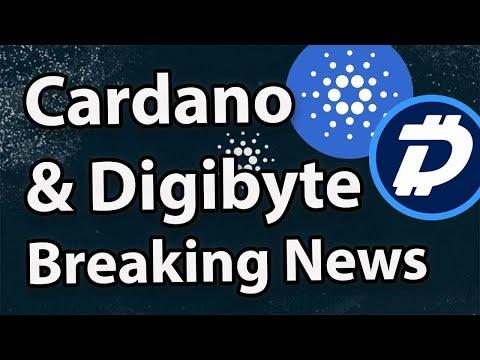 Cardano Doing Insane YTD & Massive Hardfork + Digibyte 40x Better Than Bitcoin?