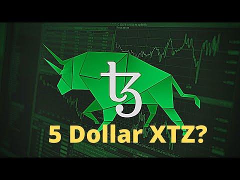 Tezos xtz 5$ on February ❓❓💥💥💥