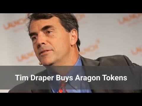 Tim Draper Buys Aragon Tokens (Trending Crypto News)