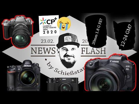 NF#24: CANON EOS R5 mit 8K! Keine neue SONY in 2020? Nikon D6, Sony 12-24 GM, Fuji X100V & X-T4