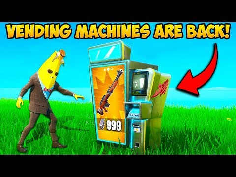 *NEW* VENDING MACHINES ARE BACK!! – Fortnite Funny Fails and WTF Moments! #833