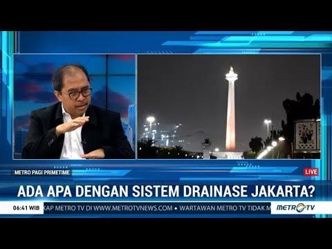 Banjir Lagi, Ada Apa dengan Sistem Drainase Jakarta?