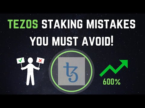 2 Tezos Staking Mistakes You Must Avoid!