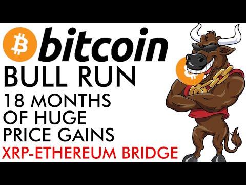 Bitcoin Bull Run – 18 Months of [HUGE] Price Gains + XRP Ethereum Bridge