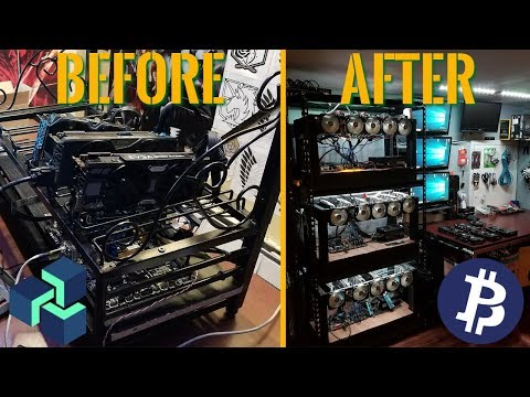 How I Built My Small Mining Farm