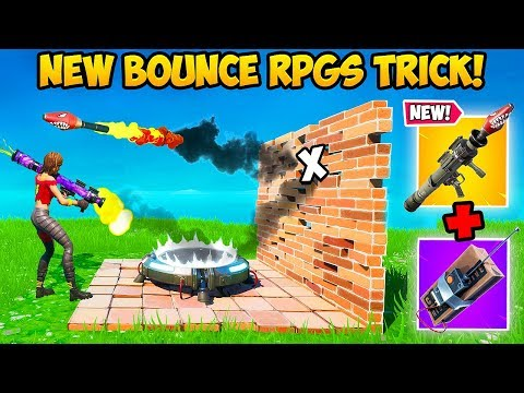 *NEW* BOUNCING RPG TRICK IS CRAZY!! – Fortnite Funny Fails and WTF Moments! #834