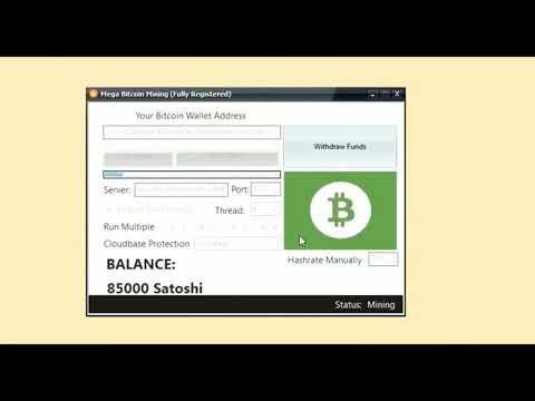 Mega Bitcoin Mining Software 2020 HACK 1 BTC DAILY NO FEE 2020
