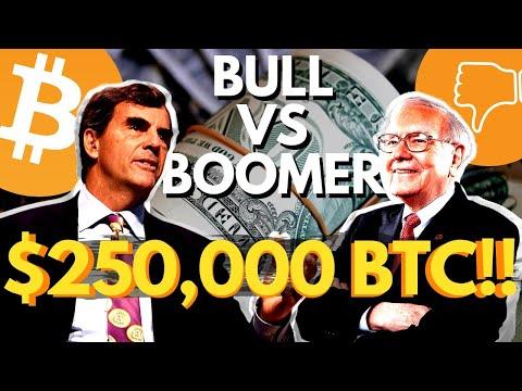 BITCOIN IS MEGA BULLISH   BTC Bull Tim Draper VS Bitcoin Bear Warren Buffett